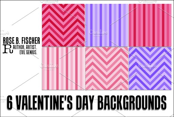 6 Valentine's Day Backgrounds