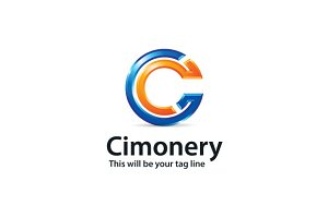 Cimonery Logo Template