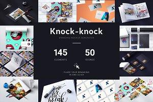 Knock-knock Mockups