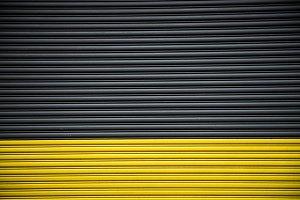 Background of garage metal door