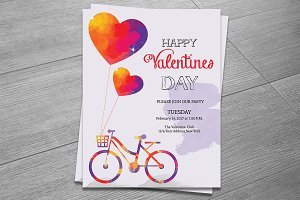 Valentines Invitation Flyer-V476