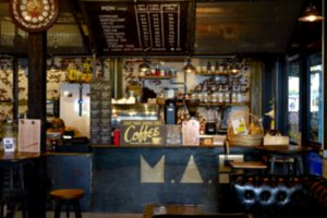 Blur coffee shop or cafe Restaurant
