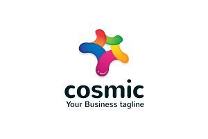 Cosmic Logo Template
