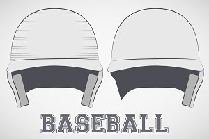 Baseball Helmets sketch