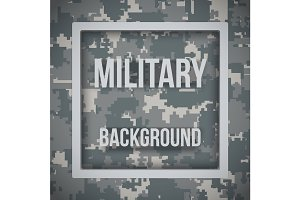 Military modern pixel camo background
