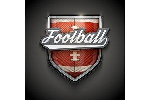 Premium symbols of US Football Tag