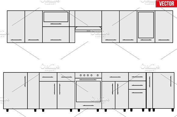Sample Of Modular Kitchen Objects