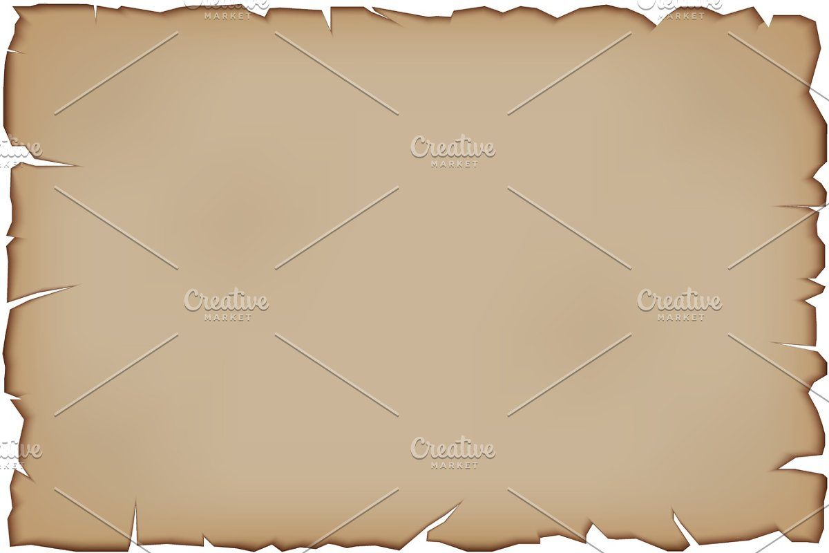 Vector Old Paper Scroll