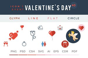 Valentine's Day - Icon't Event