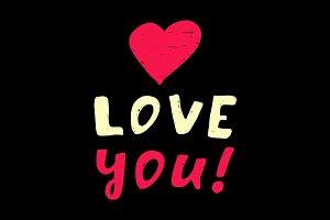 I love you5
