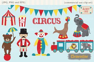 Circus clip art and vectors