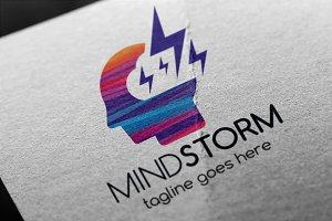 Mind Storm Logo