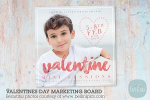 IV018 Valentine Marketing Board