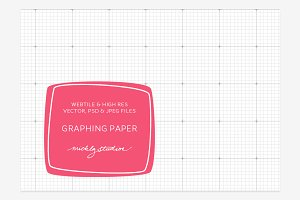 Graphing Paper VECTOR, PSD, JPG
