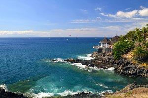 View of Costa Adeje,Tenerife.