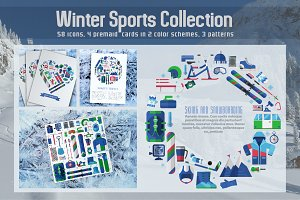 Winter Sports and Activity Set