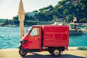 Italian symbolic car.