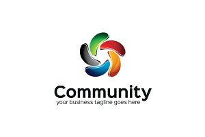 Community 2 Logo Template