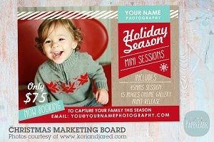 IC002 Christmas Marketing Board