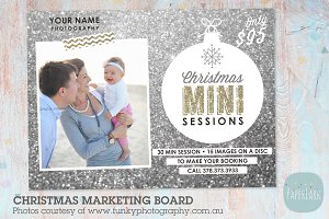 IC013 Christmas Marketing Board