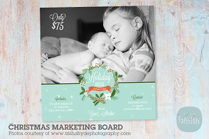 IC011 Christmas Marketing Board