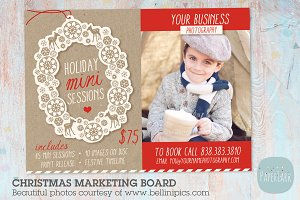 IC001 Christmas Marketing Board