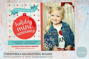 IC006 Christmas Marketing Board