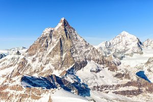 Winter skiing in Italian Alps
