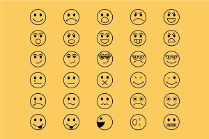 Smiley Vector Icons