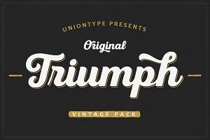 Triumph Vintage Pack -30%