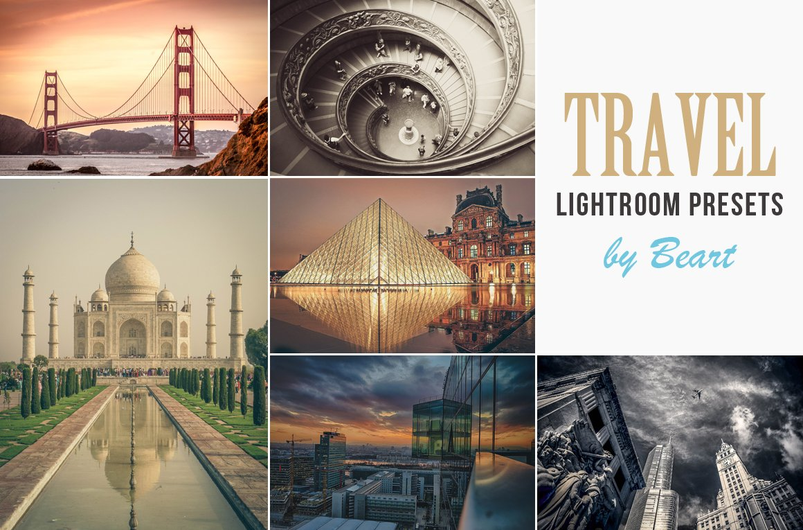 Landscape & Travel Lightroom Presets - Actions - 1