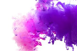 abstract color blots