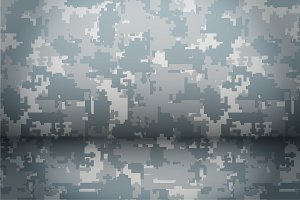 Digital Camouflage background
