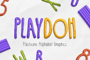 Play-Doh Alphabet