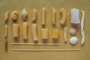 Traditional Italian pasta