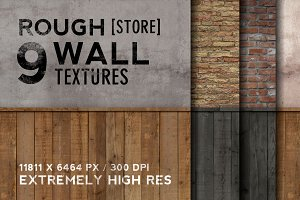 9 Rough Store Walls - Extremely HR