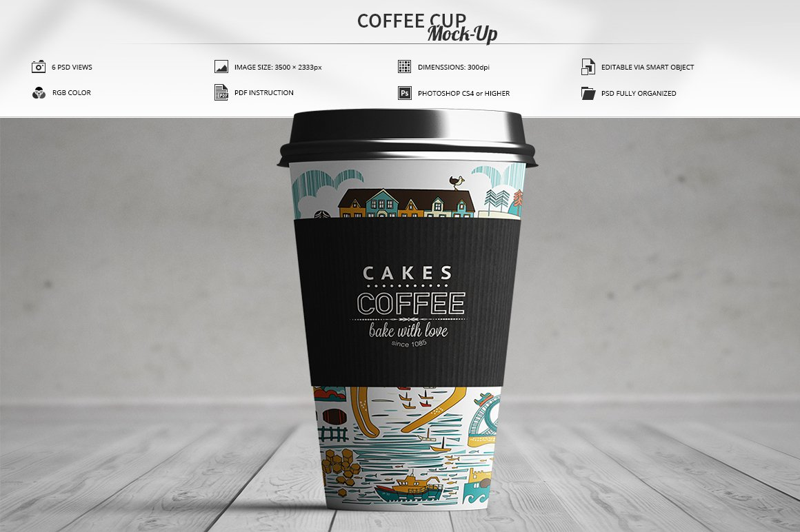 Coffee Cup Mock Up Product Mockups Creative Market