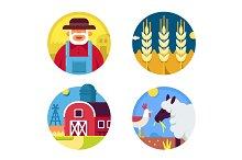 Farming set icons