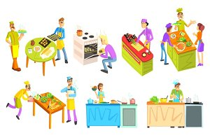 Cooking Illustrations Collection