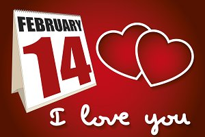 frebruary 14 I love you