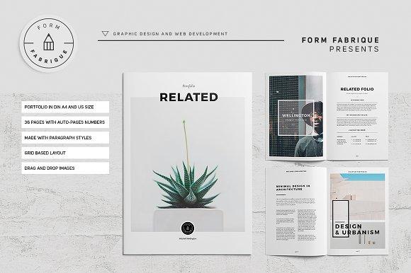 Related Portfolio in Brochure Templates