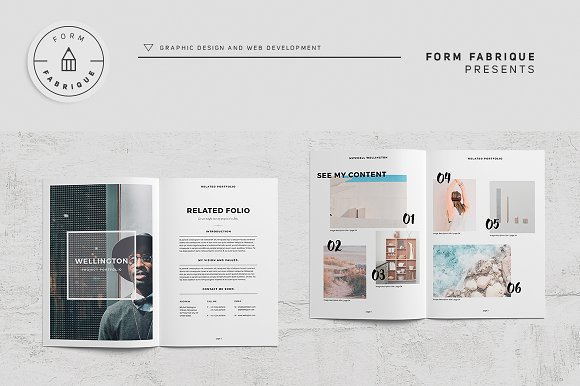 Related Portfolio in Brochure Templates - product preview 1