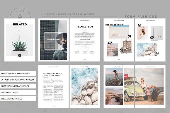 Related Portfolio in Brochure Templates - product preview 2