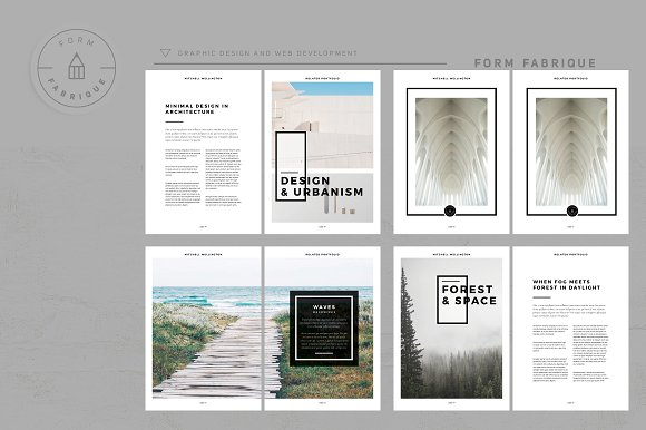 Related Portfolio in Brochure Templates - product preview 4