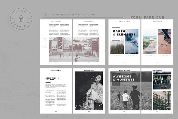 Related Portfolio in Brochure Templates - product preview 5