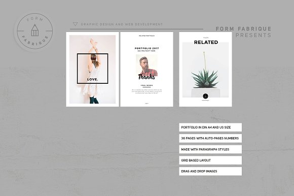 Related Portfolio in Brochure Templates - product preview 6