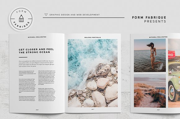 Related Portfolio in Brochure Templates - product preview 7