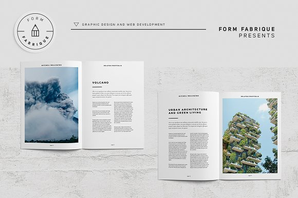 Related Portfolio in Brochure Templates - product preview 8