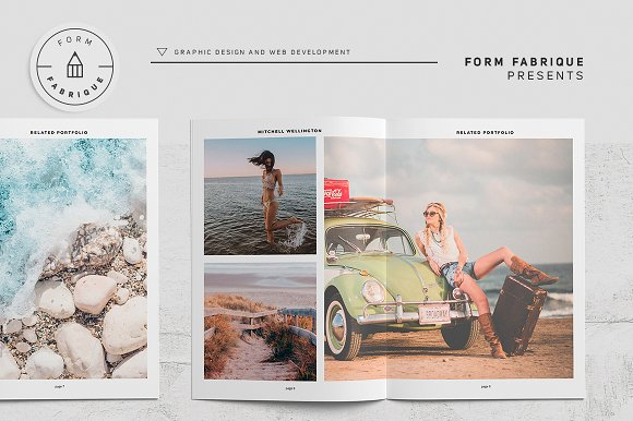 Related Portfolio in Brochure Templates - product preview 9