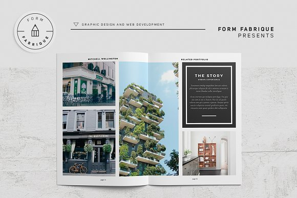 Related Portfolio in Brochure Templates - product preview 10